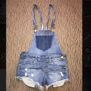 Blank NYC Overalls